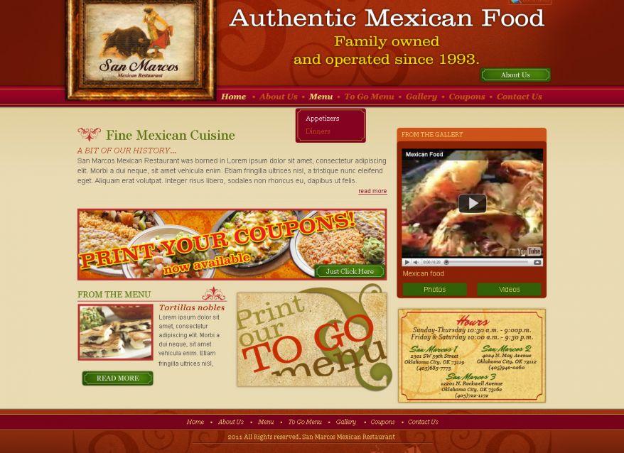 San Marcos sitio web