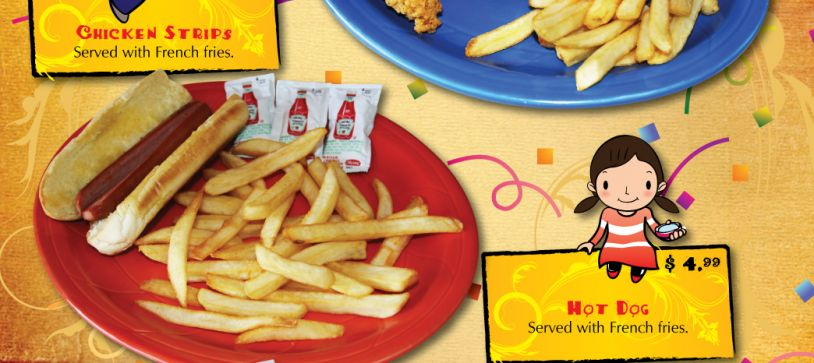 Kids Menu Durango